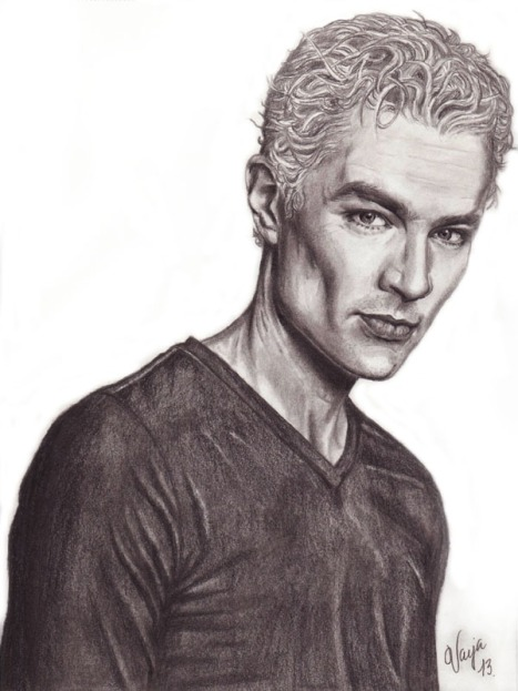 Spike, James Marsters Liten